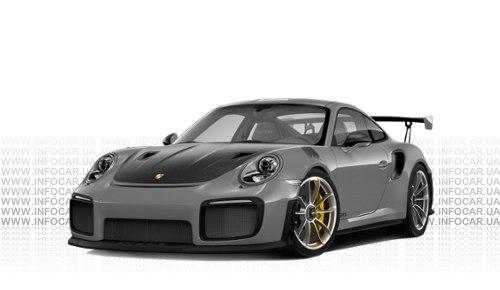 Цвета 911 GT2 RS